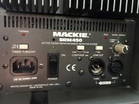 MACKIE SRM450 ACTIVE POWERED SPEAKERS - IDEAL FOR DJ OR PA USE £500