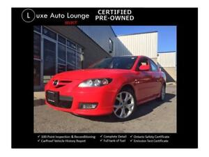 2008 Mazda Mazda3 GT - LOW KM, HEATED SEATS, 5-SPD, CLEAN!!