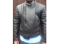 Motorcycle Jacket - Real Leather by JTS