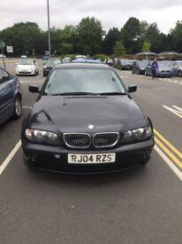 BMW 316i black