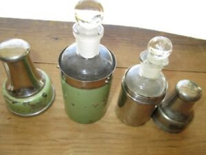 Doctor Medicine Bottles with Metal outer containers