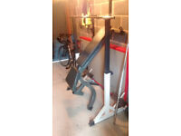 York Squat Rack and Body Max adjustable bench