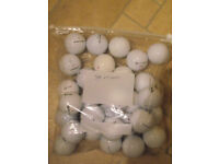 60 Mixed brand almost new golf balls