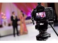 Freelance videographer/cameraman wedding or event. available in short notice