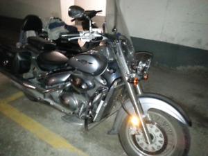 2006 Suzuki Boulevard VL800 C 50 Classic Touring motorcycle
