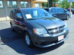 2012 DODGE GRAND CARAVAN SXT- REAR AIR & HEAT, POWER SLIDING REA