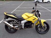 2010 KYMCO KR125 KR 125 NAKED 4T LEARNER MOTORBIKE VGC FAULTLESS 10K LNG MOT TAX