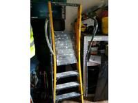 Big yellow youngmans mega step ladders
