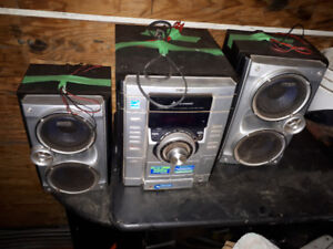 Sounds system and Speaker sony