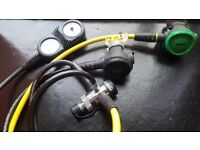Scuba diving regulators mares MR12T dfc din