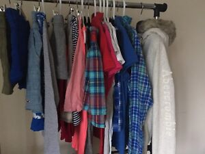 Abercrombie & Hollister clothings (size xs-L)