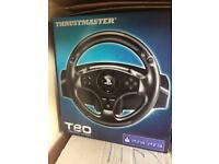 PS4/PS3 steering wheel and pedals brand new