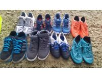 Trainers and football boots