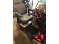 Mobility scooter and charger