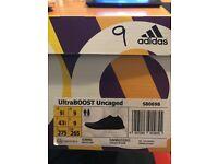 Brand new Adidas Ultraboost Uncaged Black 9uk