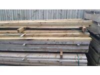 40 3 metre fence rails