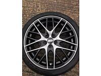 BBS CS-5 alloy wheels