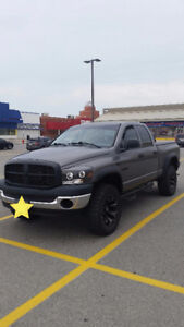 2008 lifted Dodge Power Ram 1500, lots of extras