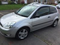 05 Ford Fiesta 1,4 silver 12months mot service history low insurance low tax £650