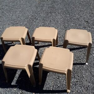 Stacking tables (small)