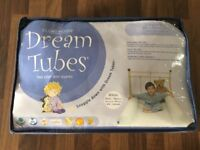 Dream Tubes (x2) Single Bed, inflatable bed guard