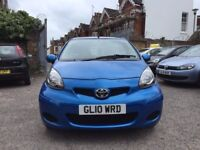 Toyota Aygo 1.0 VVT-i Blue 5dr£2,895 2010 (10 reg), Hatchback