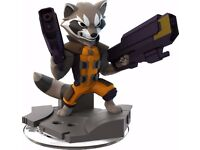 Disney Infinity 2.0 Guardians Of The Galaxy Rocket Raccoon Figure