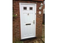 FIRE REARDENT WHITE DOORS