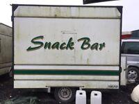 Snack trailer
