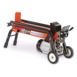 Need an electric log splitter