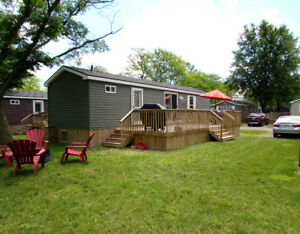 Fully furnished Seasonal modular cottage in NOTL