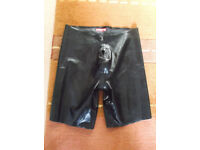Regulation Rubber Shorts