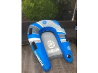 Yamaha Lowrider, Inflatable two person tube for boat towing.