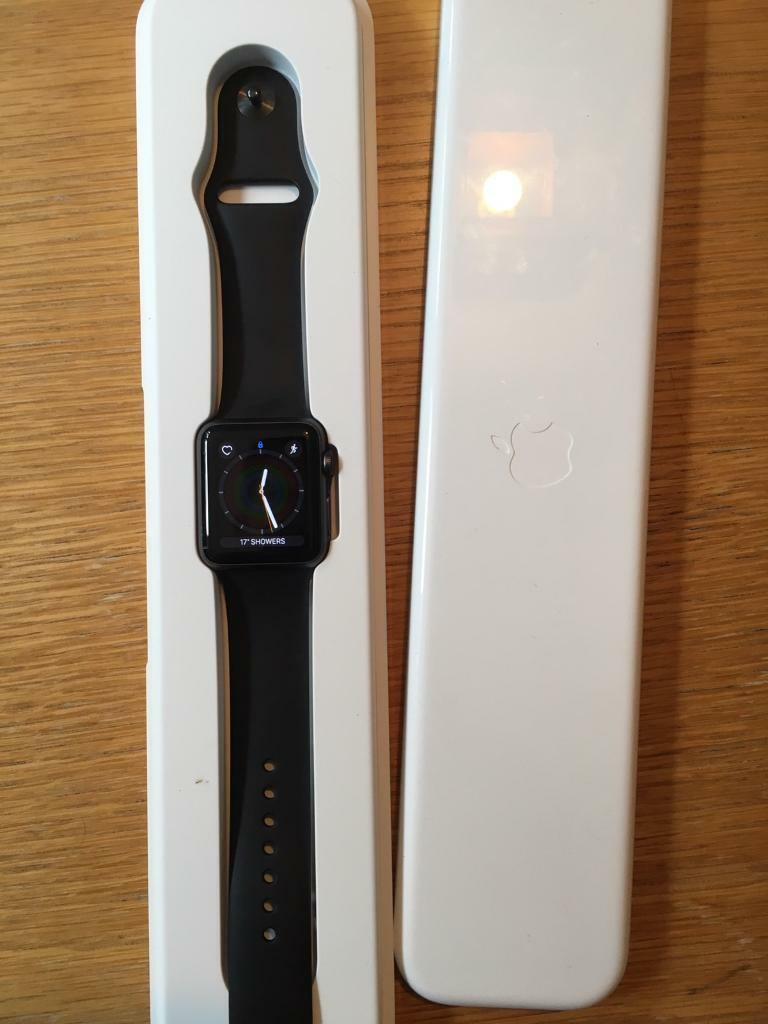 Apple Watch 38mm iwatchin Knightswood, GlasgowGumtree - Apple Watch Fantastic condition 38mm case7000 series aluminiumI will fully wipe before sale Great gadget