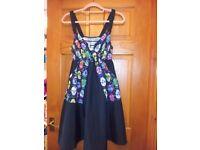 SKULL CANDY PATTERN DRESS