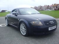 AUDI TT 180 QUATTRO,53 PLATE,110K WITH FSH,NOV MOT,BEAUTUFUL EXAMPLE,RE-MAPPED 210BHP,DRIVES PERFECT