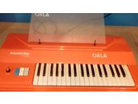 """Orla """"Dixymelody"""" electronic organ with stand. Classic 60's?"""