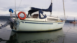 28 ft sailboat for trade