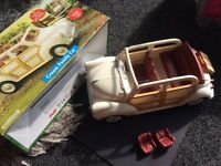 FOR SALE: Sylvanian families cream family car used but in immaculate condition