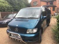 Mercedes v class ambient wheelchair accessible mpv