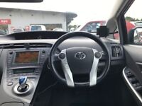 2010 TOYOTA PRIUS VVT-I AUTO HYBRID, LEATHER, SUNROOF, WITH PCO UBER LICENCE, FREE ROAD TAX.