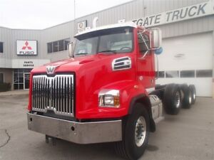 2018 Western Star 4700 Triaxle Cab and Chassis
