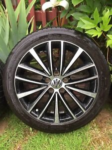 Michelin Pilot Sport AS 225/45R17 tires and rims