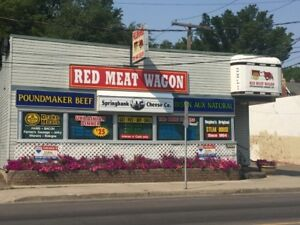 Fellinger's Red Meat Wagon
