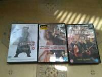 3 movies on dvd urgently