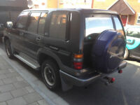 Isuzu Trooper Bighorn LWB 7 Seater 3.1TD Auto Mot April 18