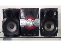 Panasonic speakers and full digital amplifier set