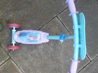 Frozen Tri Scooter (excellent condition)
