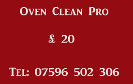 Oven Clean Pro & Appliance Cleaning
