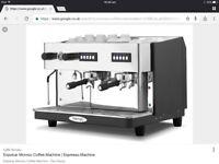 Monroc Expobar Espresso Coffee Machine. Plug in slimline version. Excellent condition.